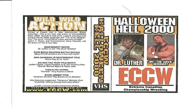 ECCW Halloween Hell 2000