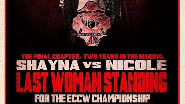 "ECCW ""MOTW"" - Shayna Baszler Vs Nicole Matthews (c) - Last Woman Standing"