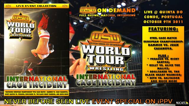 WSW WORLD TOUR : INTERNATIONAL CAGE INCIDENT (FULL EVENT - ENGLISH COMMENTARY)