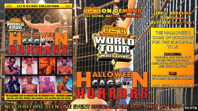 WSW WORLD TOUR : HALLOWEEN CAGE OF HORRORS (FULL SHOW - ENGLISH COMMENTARY)