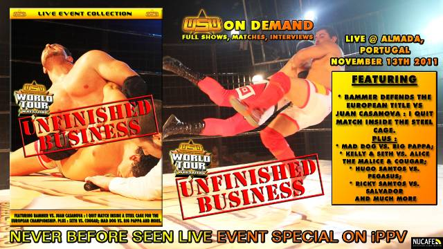 WSW WORLD TOUR : UNFINISHED BUSINESS (FULL SHOW - ENGLISH COMMENTARY)