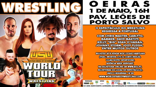 WSW WORLD TOUR: OEIRAS, PORTUGAL TV SPOT - MAY 1ST 2017