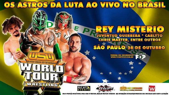 WSW WORLD TOUR - SÃO PAULO, BRASIL - Juventud  Guerrera Message