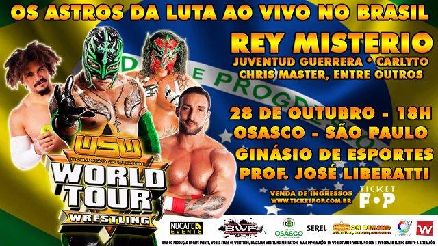 WSW WORLD TOUR - SÃO PAULO, BRASIL - TV SPOT
