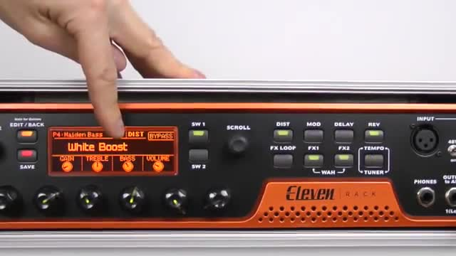Eleven Rack: How To Create The Iron Maiden Bass Sound With Avid Eleven Rack