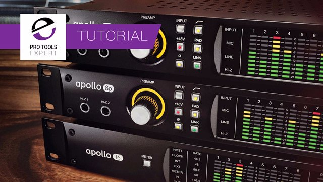 Free Tutorial - Using The Universal Audio Apollo Interface As A Harware Effects Processor