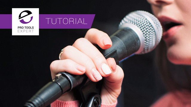 Free Tutorial  - Recording Your First Vocal In Pro Tools