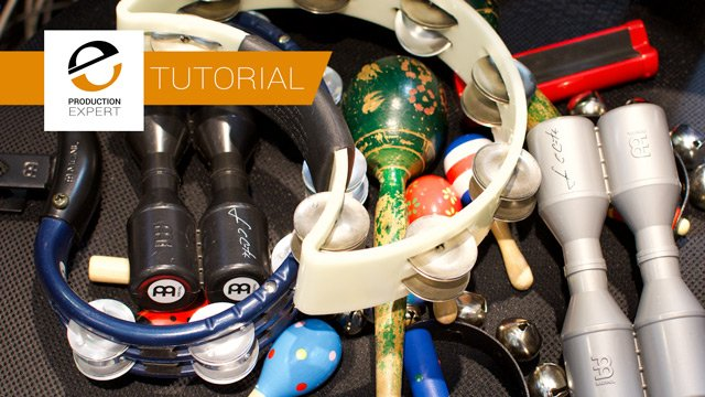 Tutorial - 5  Tips For Record Hand Percussion
