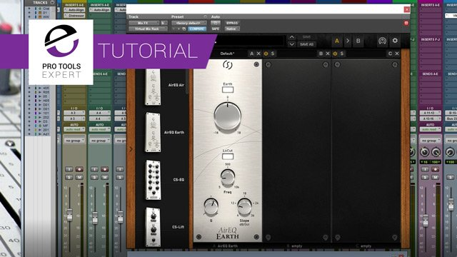 Free Tutorial -  How To Control The Bass Using The Slate Digital AirEQ Earth