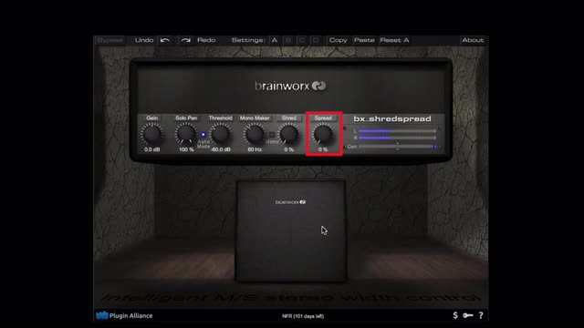Using The BrainWorx ShredSpread On a Synth Bass
