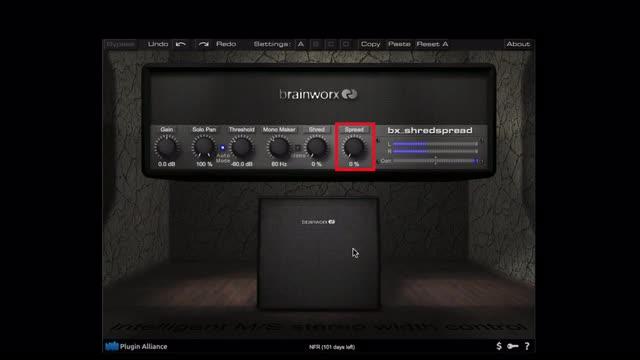 Using The BrainWorx ShredSpread On a Synth Bass