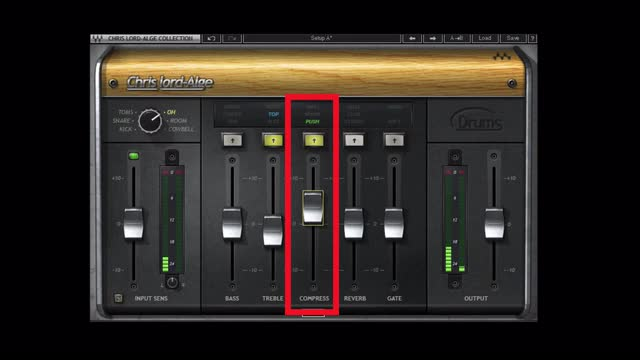 Sitting Hi-Hats In a Mix Using Waves CLA Drums