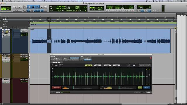 Kick Drum Sample Enhancement Using Massey DRT Plug-in