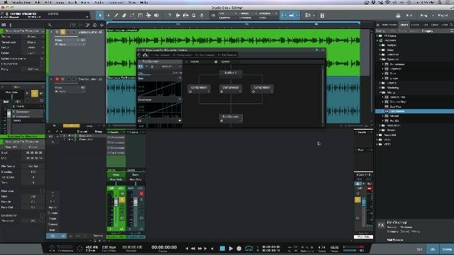 How To Create Custom Multi-Band Compressors Using The Splitter in PreSonus Studio One 3