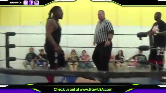 Lucha Chaos vs. 1st Degree vs. Caine/Fortune