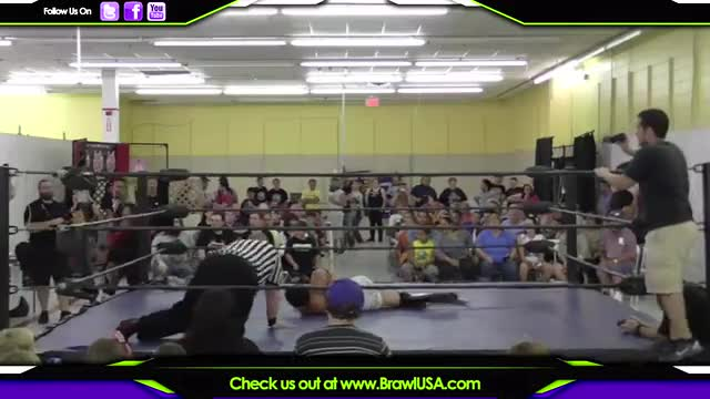 Jayson Falcone vs, Draven Blaze - No DQ Grudge Match