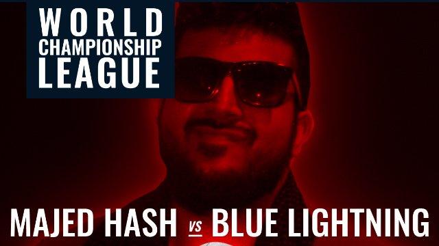 Blue Lightning VS Majed Hash