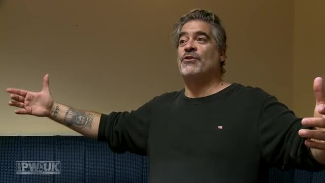 IPW:UK Short Shoot with Vince Russo