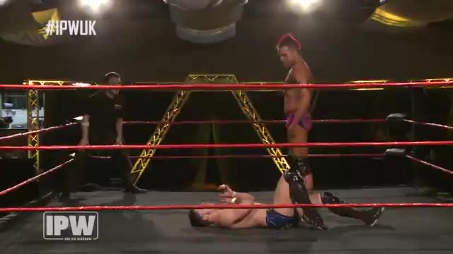 Robert Sharpe vs Kip Sabian - Z-Force Championship Match - INCEPTION!