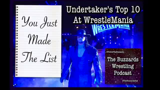 #YJMTL 1 - Taker's Top 10 Wrestlemania Matches