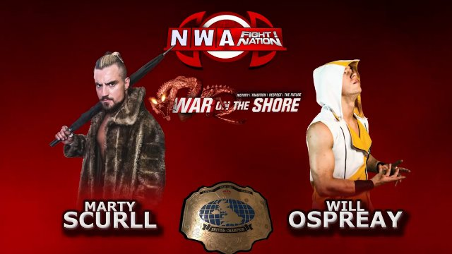NWA Fight! Nation 'War On The Shore' 2015