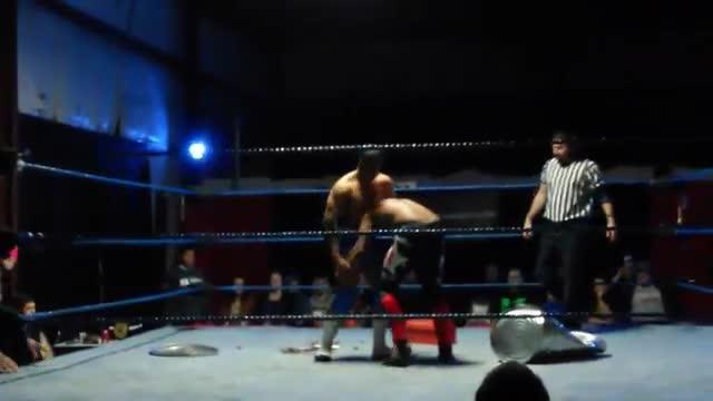 Dave Davis vs. Andd Bivians (Hardcore) Last Standing Match (OTW Spring Bash 15')