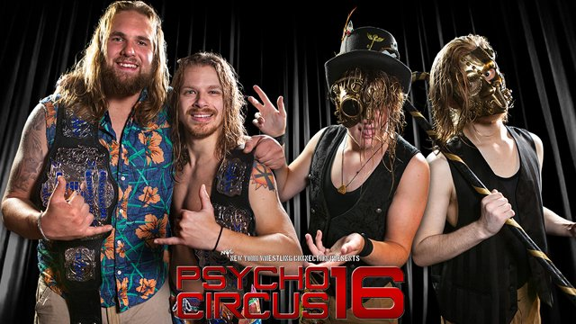 NYWC Tag Team Championship - The Benson Brothers (c) vs. The Punk Relics