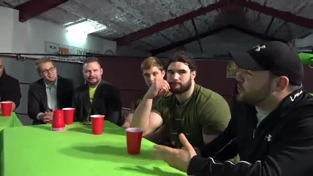 Monster Factory Exposed Round Table