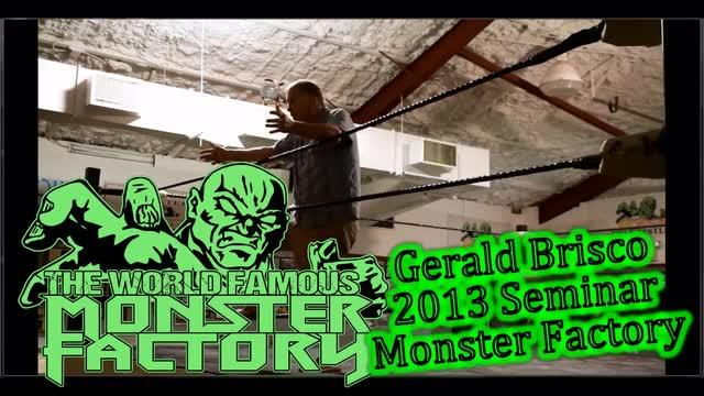 Gerald Brisco Seminar 2013