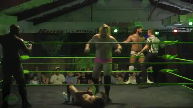 Royal Money & Chad Kensington vs Mikey Webb & Nick Comoroto