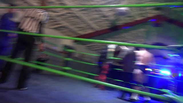 Geddy Cahoon vs Hyenna Hexx vs Soriano! Intro