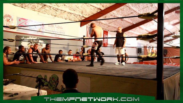 Steve Cutler During Brisco Seminar That Got Him Tryout With WWE