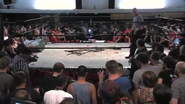 Joey Ryan & Candice Lerae VS The Young Bucks
