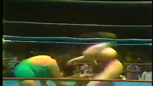 Fabulous Moolah & Donna Christenello VS Susan Green & Joyce Grable