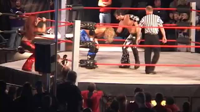 Jerry Lynn & Amy Dumas VS Austin Aries & Christy Hemme
