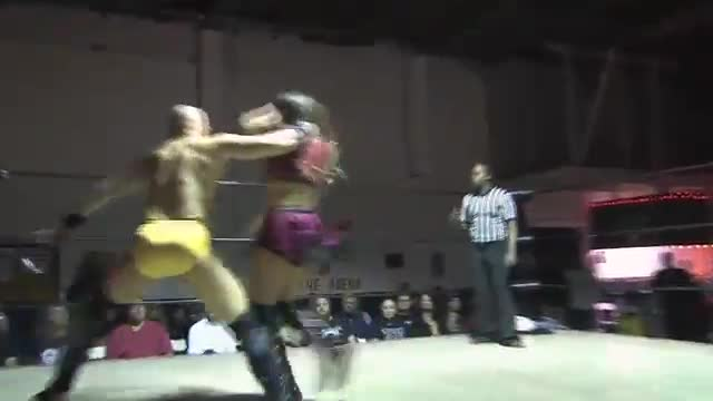 Crazy Mary Dobson VS Aaron Williams
