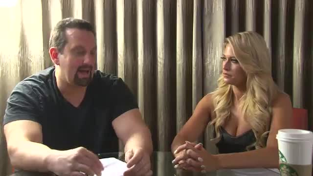 Barbi Blank Shoot Interview w/ Tommy Dreamer