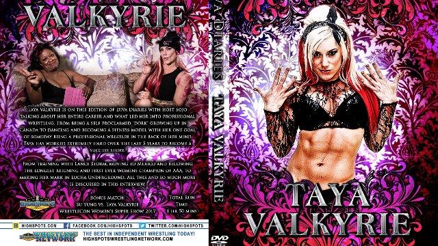 Diva Diaries Taya Valkyrie