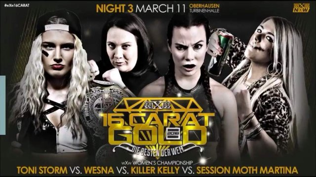 Toni Storm VS Wesna VS Killer Kelly VS Session Moth
