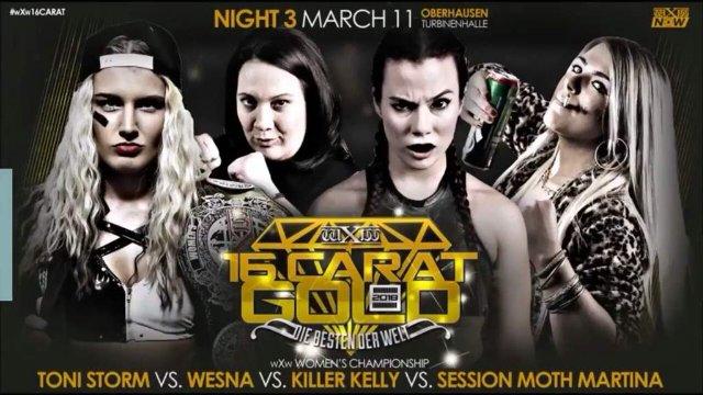 Toni Storm VS Wesna VS Killer Kelly VS Session Moth