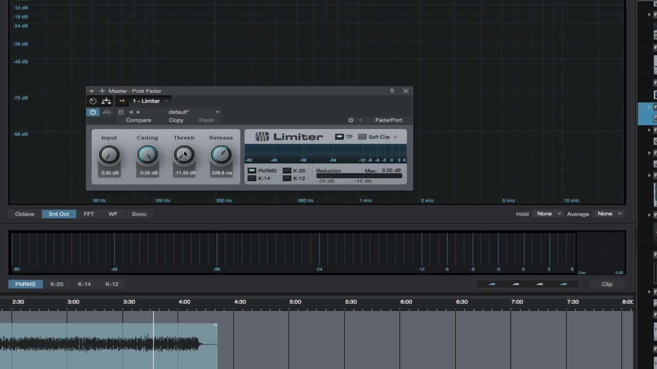 Mixing in Presonus Studio One Made Easy - Section 9 Mastering