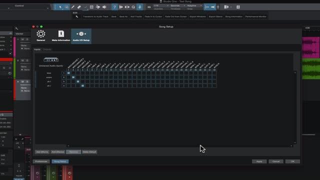 Presonus Studio One Version 3 Beginners Guide - Audio I/O