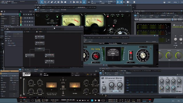 Mixing Drums Made Easy - S9 Studio Session - Phase Correct & Bus setup