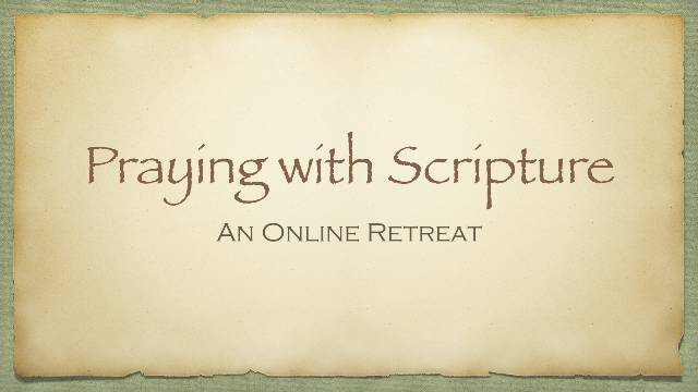 Praying with Scripture