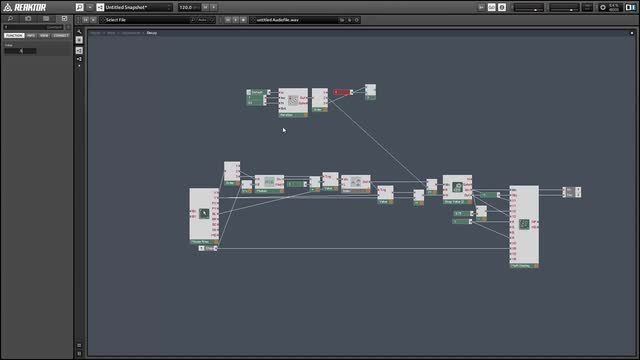 02 Modal synthesis in Reaktor