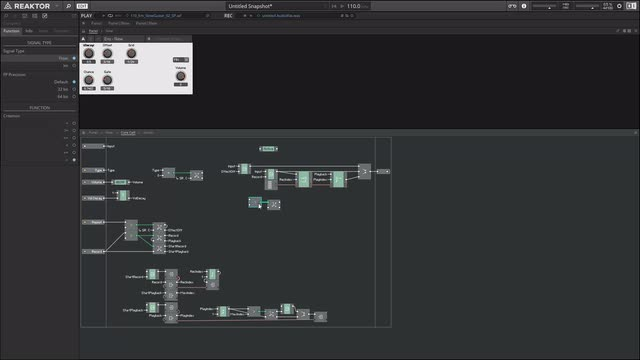 03 Building a Beat Repeat Clone in Reaktor