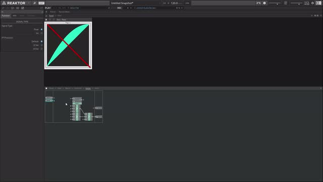 Bezier Curves in Reaktor 01
