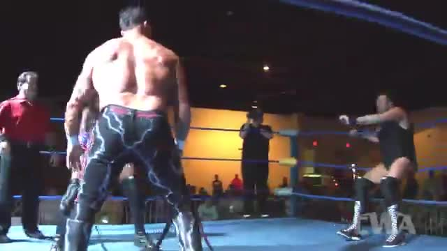 CWA Wrestle Raise 1: #06 - Buff Bagwell & Tim Storm  vs. Matt Riviera & Greg Anthony w/ Boyd Bradford