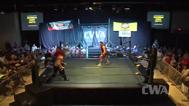 "CWA Wrestle Raise 2: #03 -  ""Mr. Saturday Night"" Michael Barry vs. Gary ""Roosevelt"" Gram"