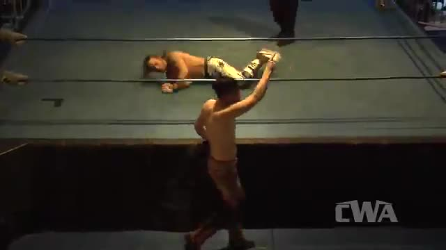 "CWA Wrestle Raise 2: #01 - "".50 Caliber"" Barrett Brown vs. ""Milky Way"" Matt Taylor"
